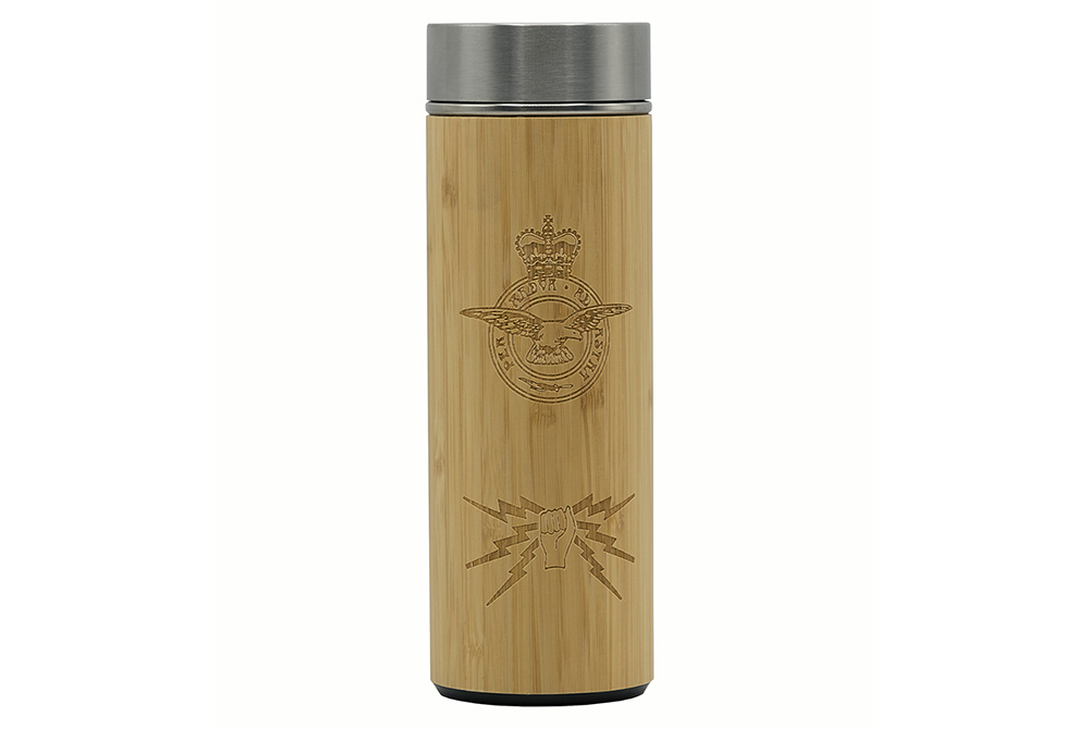 Fist and Sparks Etched Vacuum Flask – Addenbrookes