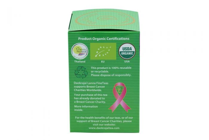 box of 25 tea bags - support breast cancer charities