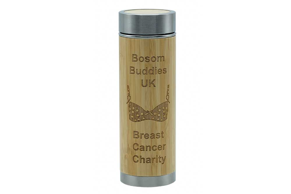 Bosom Buddies UK - Etched vacuum flask