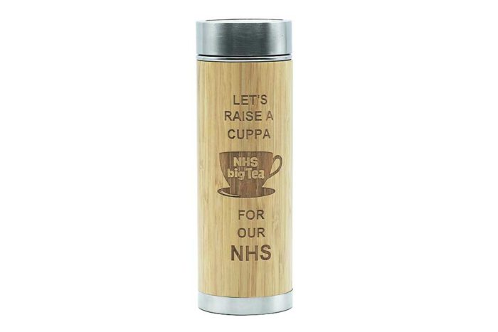 Raise A Cuppa For Our NHS - Charity Flask